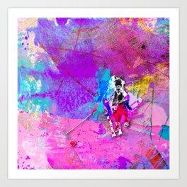 polo_vibrant Art Print