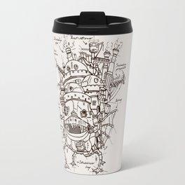 Howl's Moving Castle Plan Travel Mug
