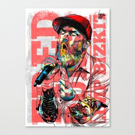fred durst tribute Canvas Print