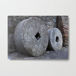 Historical hard work Metal Print