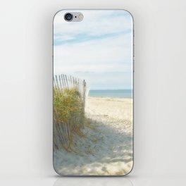 Sandy Beach, Ocean, and Dunes iPhone Skin