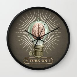 Turn On Wall Clock