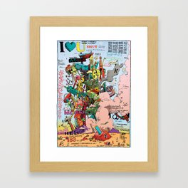 Poster for Taoists Framed Art Print