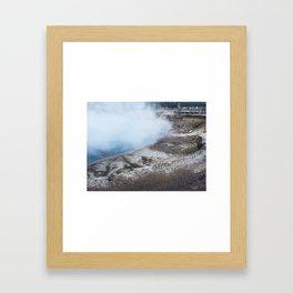 July 22, 2015 / Yellowstone National Park Framed Art Print