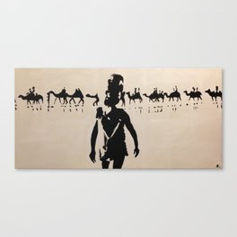 Broome Camels Canvas Print