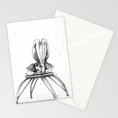 Contortionist at rest Stationery Cards