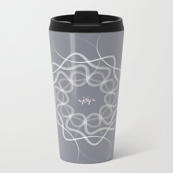 Ornament-Joy Metal Travel Mug