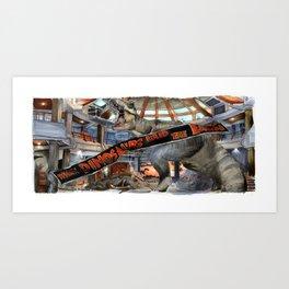 Jurassic Park - When Dinosaurs Ruled the Earth Art Print