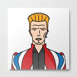 David Bowie – Earthling Metal Print