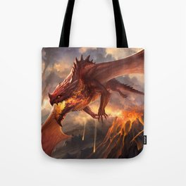Red Dragon v2 Tote Bag