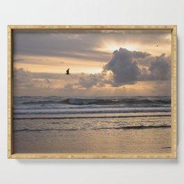 Heavens Rejoice - Ocean Photography Serving Tray