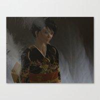 oriental Canvas Prints featuring Oriental by Robert Erskine