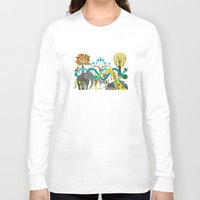 evolution Long Sleeve T-shirts featuring Evolution by Design4u Studio