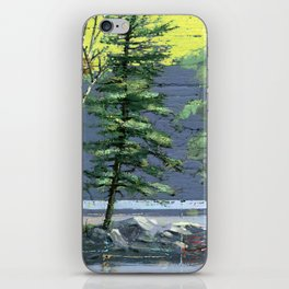 eagle's nest iPhone Skin