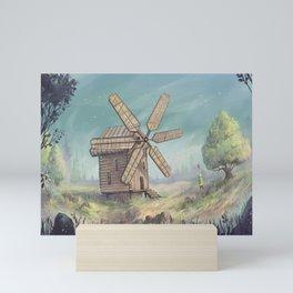 Windmill Mini Art Print