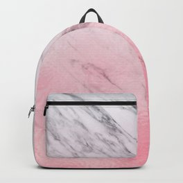 Cotton candy marble Backpack
