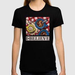 I.Believe|Coffee T-shirt