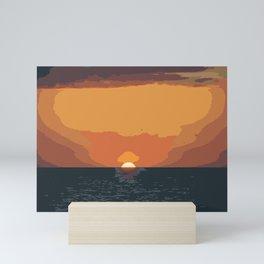 Scorching Twilight Mini Art Print