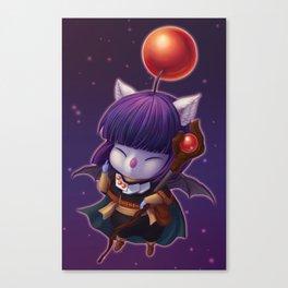 Mazoku Mog Canvas Print
