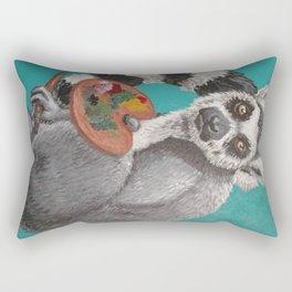 art lemur Rectangular Pillow