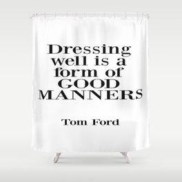 Fashion Decor, Fashion Poster, Gift For Her, Fashionista, Home Decor Shower Curtain