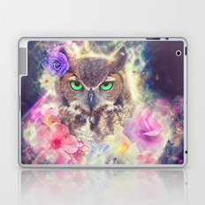 Space Owl with Spice Laptop & iPad Skin
