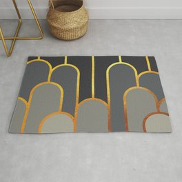 Art Deco Looking For Clues Rug