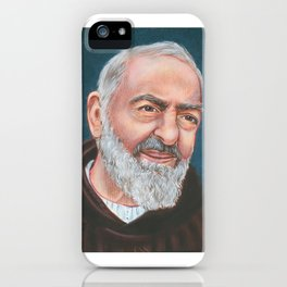 St Padre Pio of Pietrelcina iPhone Case