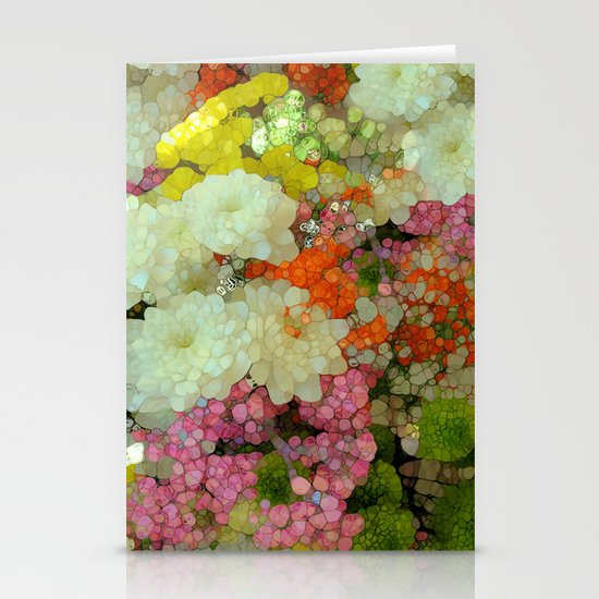 Joyous Spring Bouquet Stationery Cards