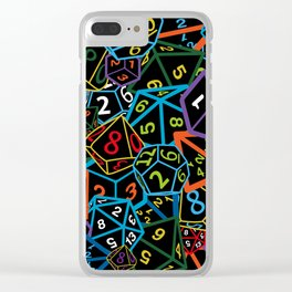 D&D (Dungeons and Dragons) - This is how I roll! Clear iPhone Case
