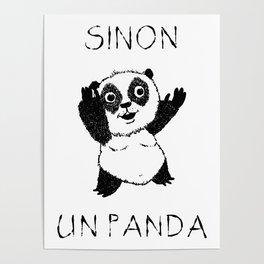 Sinon, un panda (6) Poster