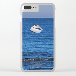 Egret on Caspersen Clear iPhone Case
