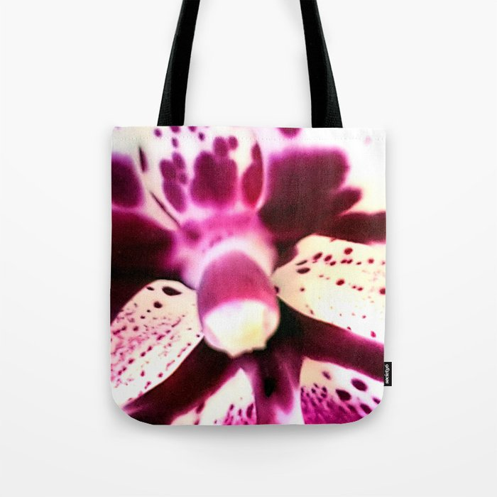 Purple Orchid Beauty Tote Bag
