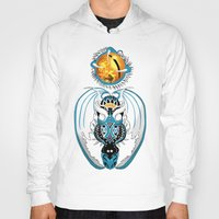 skyfall Hoodies featuring Cosmic Skyfall Dragon by Pr0l0gue