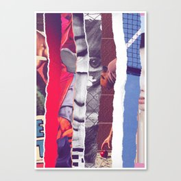 Ripped Canvas Print