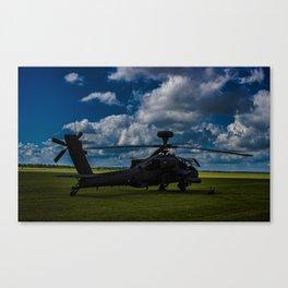 Apache Gun Ship Canvas Print