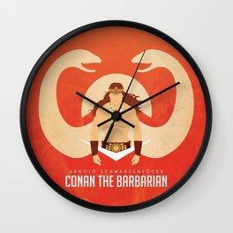 SON OF CROM Wall Clock
