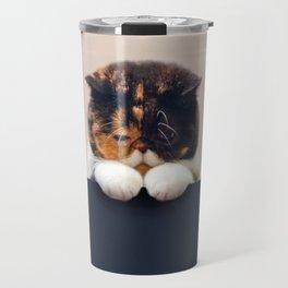 Desperate Cat Travel Mug