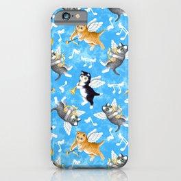 Cherub Kittens iPhone Case