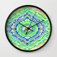 geology Wall Clocks featuring Geology by Smiley's Dreamboat