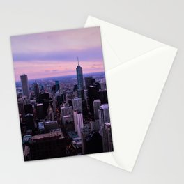 Chicago Sunsets Stationery Cards
