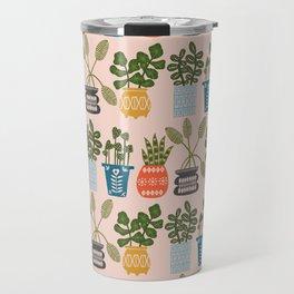 Plants in Pots Print Travel Mug