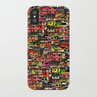 brazil iPhone & iPod Cases featuring Brazil by India Panzid