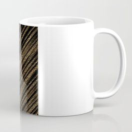 Black Leopard/Cheetah Print Coffee Mug
