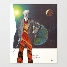 Professor OrangePants Canvas Print