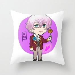 Mystic Messenger - Saeran chibi Throw Pillow