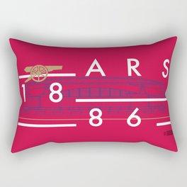 Emirates - Arsenal - Typoline Stadiums Rectangular Pillow