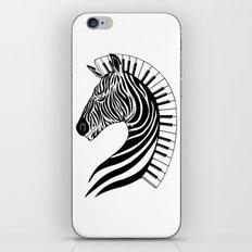 Zebra Clef iPhone & iPod Skin