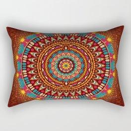 Crystalline Harmonics - Tribal Rectangular Pillow