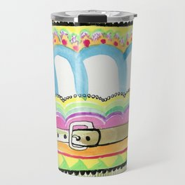 The Amazing Multicolored Dream Belts Travel Mug